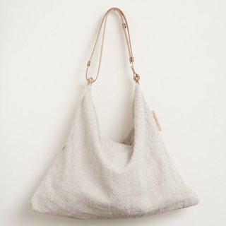 M022 MORMYRUS linen wash square shoulder basic color
