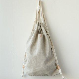 M009 MORMYRUS linen wash ruck sack