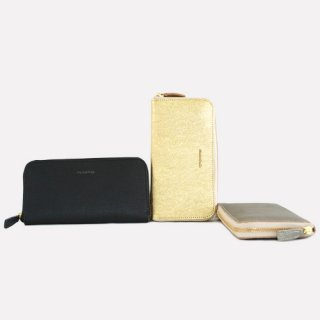 MK003 MORMYRUS leather round wallet