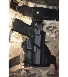 DROP-LEG HOLSTER BLACK 5-7 RH Level2 |Spetz Gear<img class='new_mark_img2' src='https://img.shop-pro.jp/img/new/icons24.gif' style='border:none;display:inline;margin:0px;padding:0px;width:auto;' />