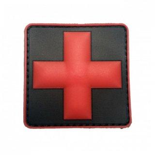 Medic PVC patch | Red/Black