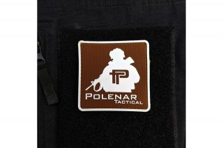 PT logo PVC patch| White/Coyote