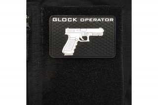 Glock Operator PVC Patch