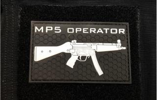 MP5 Operator PVC Patch