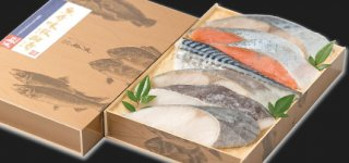 【ご飯との相性ばっちりの絶品粕漬け】魚介味淋粕漬 7袋入(計585g)