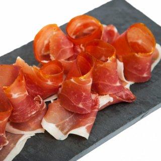 【オレンジの香りとスパイスの余韻の爽やかな味わい】イタリア産  グラン カレ 豚ロースの生ハム オレンジ風味 約100gスライス