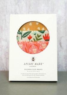 Apiary Made Australia カラフルキッチンアソートSML 各1枚セット、またはスリーミディアムM*3枚セット