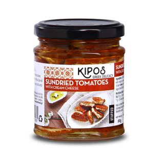 【キポス】サンドライドトマトクリームチーズ入り180g