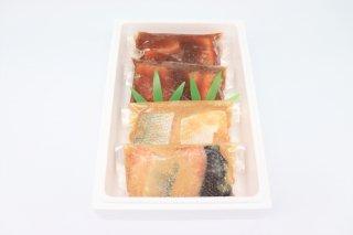 割烹柳屋 鮭の味噌漬・鮭の焼漬(冷凍)【エコ包装】