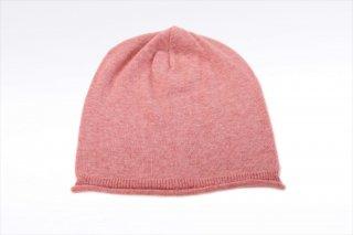 こころが軽くなるニット帽子 ソルベシリーズ|フランボワーズ<オーガニックコットン>(常温)