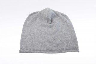 こころが軽くなるニット帽子 ソルベシリーズ|黒ゴマ<オーガニックコットン>(常温)
