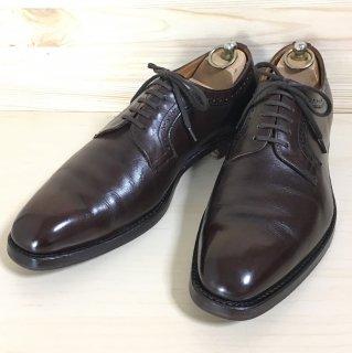 """""""美品"""" Alan McAfee(アランマカフィー)Plane Toe Perforation Derby Shoes(プレーントゥ パーフォレーション ダービー シューズ)KEVIN UK8 F"""