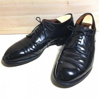 """""""美品"""" Alden(オールデン)Straight Tip Cordovan Shoes(ストレートチップ コードバン シューズ)Modified Last(モディファイドラスト)US9 E ブラック"""