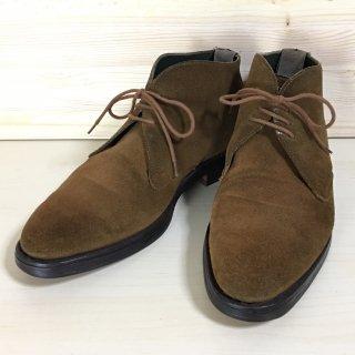 """""""中古品"""" CHEANEY(チーニー)×TOMORROWLAND(トゥモローランド)Suede Chukka Boots(スエード チャッカ ブーツ)UK6.5程度"""