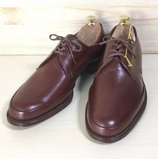 """""""試着程度品/希少品"""" Wearra Shoe Utip Derby Shoes(Uチップ ダービー シューズ)UK8.5 DEAD STOCK"""
