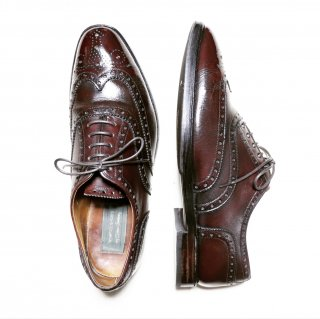 """""""中古品"""" Oliver Sweeney(オリバースウィーニー)McAfee shoes社製 Full Brogues Shoes(フル ブローグ シューズ)UK8.5"""