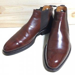 """""""美品"""" Jalan Sriwijaya(ジャランスリワヤ)Side Gore Boots(サイドゴア ブーツ)Size:7 ブラウン 98411"""