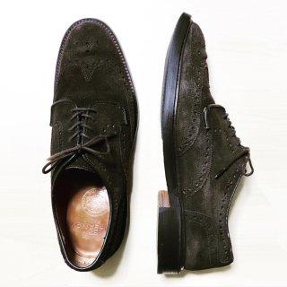 """""""美品"""" CHEANEY(チーニー)×  BEAMS F別注 Full Brogues Shoes(フルブローグシューズ)スエード HAVELOCK 濃茶 UK7.5 E 定価¥66,960-"""