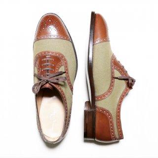 """""""試着程度品"""" Lloyd Footwear(ロイドフットウェア)Master Lloyd(マスターロイド)セミブローグシューズ Crockett&Jones製 UK8 E"""