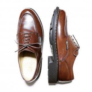 """""""極美品"""" Paraboot(パラブーツ)Utip Shoes(Uチップ シューズ) CHAMBORD(シャンボード)Size:7.5 マロン 旧タグ デカタグ"""