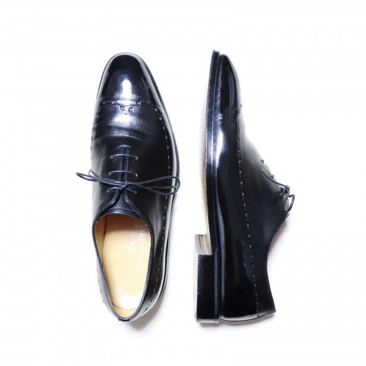"""""""極美品"""" TANINO CRISCI(タニノクリスチー)Blind Wing Tip Shoes(ブラインド ウイングチップ シューズ)Size:7 ブラック"""