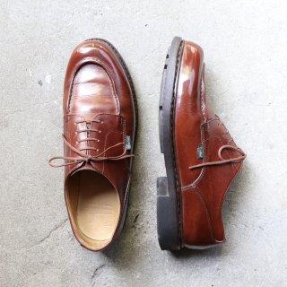 """""""美品"""" Paraboot(パラブーツ)Utip Shoes(Uチップ シューズ) CHAMBORD(シャンボード)Size:8 マロン"""