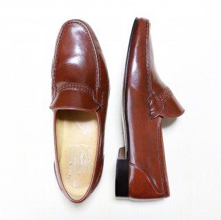 """""""美品/希少品"""" Church's(チャーチ)Center Elastic Shoes(センターエラスティックシューズ)HANDMADE PRIMA CLASSE イタリア製 Size:11 M 赤茶"""