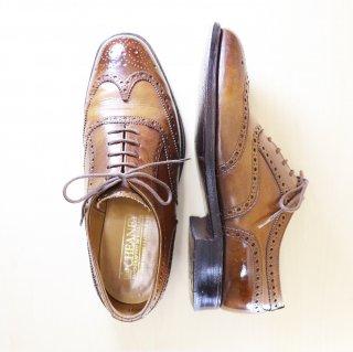 """""""美品"""" CHEANEY(チーニー)Full Brogues Shoes(フルブローグシューズ)UK5.5 F ブラウン 旧ロゴ 00s"""