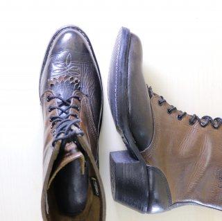 """""""美品"""" White's Boots(ホワイツブーツ)Packer Boots(パッカーブーツ)US6.5程度 ブラック×ブラウン"""