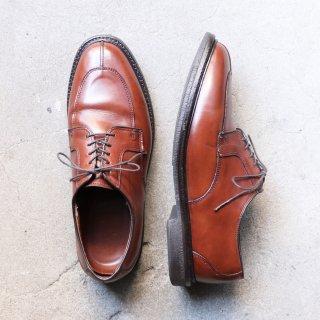 """""""美品"""" Allen Edmonds(アレンエドモンズ)Split Toe Shoes(スプリットトゥ シューズ)Ashton US9.5 E ブラウン"""