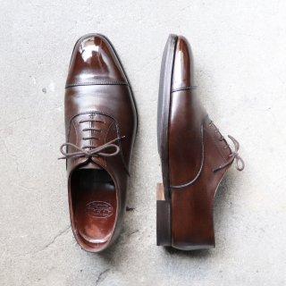 """""""中古品"""" Crockett&Jones(クロケット&ジョーンズ)Straight Tip Shoes(ストレートチップ シューズ)AUDLEY ハンドグレード UK8 E ダークブラウン"""