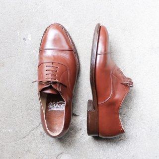 """【レディース】""""美品/希少品"""" Unknown Brand・Straight Tip Shoes(ストレートチップ シューズ)23.0cm程度 50s 日本製"""