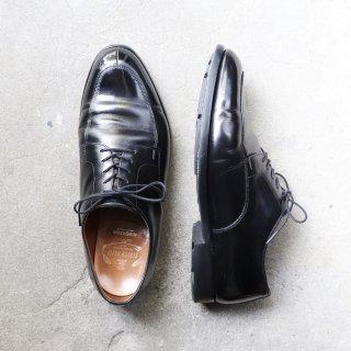 """""""美品"""" SCOTCH GRAIN(スコッチグレイン)Utip Shoes(Uチップ シューズ)27.0cm EEEE SGソール ブラック 4019 箱付"""