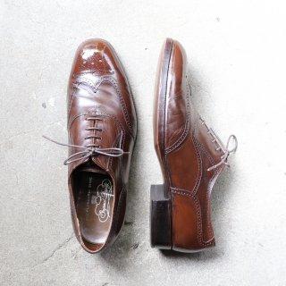 """""""中古品"""" FLORSHEIM(フローシャイム)Full Brogues Shoes(フルブローグシューズ)Imperial Quality US10 E ブラウン 70s"""
