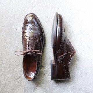 """""""美品/希少品"""" Alan McAfee(アランマカフィー)Full Brogues Shoes(フルブローグシューズ)Church's製 UK8.5C 119ラスト 80s 3都市表記時代"""