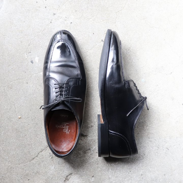 """""""中古品"""" Allen Edmonds(アレンエドモンズ)Split Toe Shoes(スプリットトゥシューズ)US7.5 3E LaSalle ブラック"""