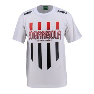 JOGARBOLA ロゴ ストライプ プラクティスシャツ-WHT