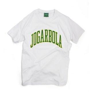 JOGARBOLA アーチロゴTEE - WHT