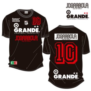 "<img class='new_mark_img1' src='https://img.shop-pro.jp/img/new/icons8.gif' style='border:none;display:inline;margin:0px;padding:0px;width:auto;' />JOGARBOLA×GRANDE ""Somos* vecinos"" COTTON T-Shirts - BLK/WHT/RED"