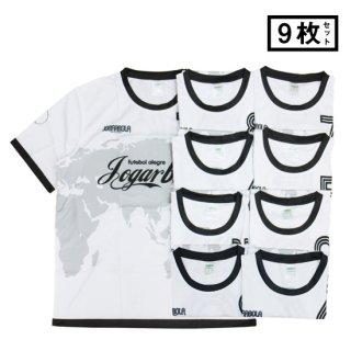 JOGARBOLA GLOBEプラクティスシャツ 9枚セット WHT