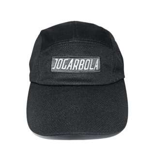JOGARBOLA BOX LOGO 5パネル コーチCAP - BLK