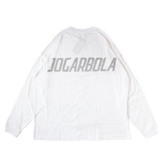 JOGARBOLA BIG LOGO L/S TEE - WHT