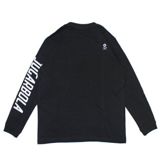 <img class='new_mark_img1' src='https://img.shop-pro.jp/img/new/icons8.gif' style='border:none;display:inline;margin:0px;padding:0px;width:auto;' />SLEEVE LOGO L/S TEE - BLK