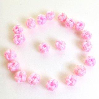 水引ビーズ(10個)和風パーツ 桜色