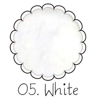 ベルベットパウダー【ホワイト】ベロアのようなふわふわレジン ケース入りアートレジン封入材