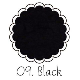 ベルベットパウダー【ブラック】ベロアのようなふわふわレジン ケース入りアートレジン封入材