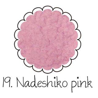 ベルベットパウダー【なでしこピンク】ベロアのようなふわふわレジン ケース入りアートレジン封入材