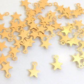 プチスター(50個)星 ゴールド宇宙チャーム