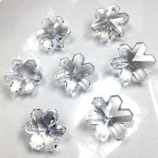 スワロフスキー#6704/20 クリスタル 雪の結晶型