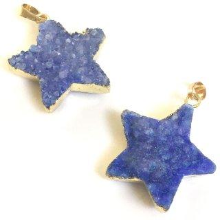 星のドゥルージー【ラピスブルー】集晶 晶洞 天然石 Druzy
